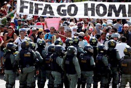La Paura Mangia l'anima. Sulla Coppa FIFA – Brasil 2014