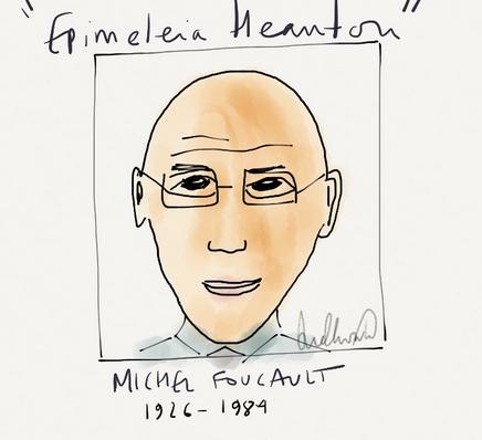 Foucault: scompiglio del potere e critica grunf-grunf