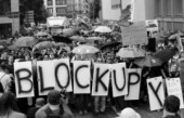 """Spazi ibridi per un'Europa non pacificata. Blockupy Festival si avvicina alla nuova """"fortezza"""" della BCE"""