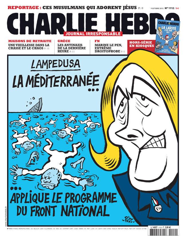 """""""Chi è Charlie Hebdo?""""  Per una mappa degli affetti e un'Europa antifascista."""