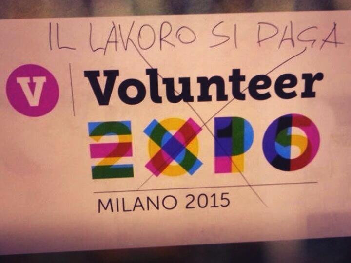 EXPO 2015. Vettore di spoliazione e laboratorio di nuovo sfruttamento.