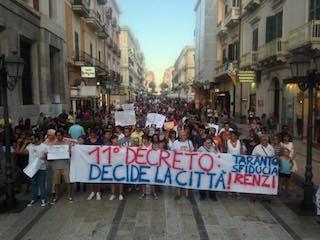 Taranto e la dignità in cammino