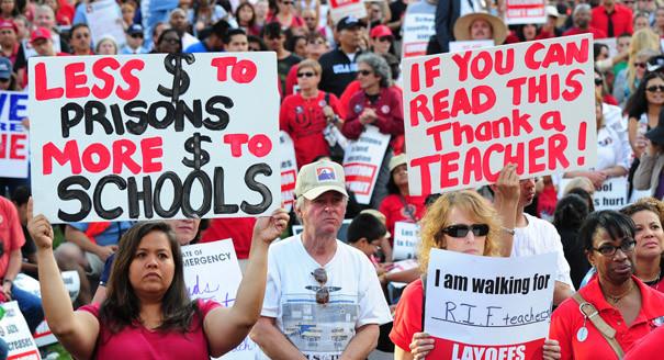 USA, le élites all'attacco dei prof della scuola pubblica