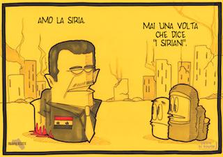 """Su #Assad """"anti-imperialista"""". Contro padroni e mitologie della geopolitica"""