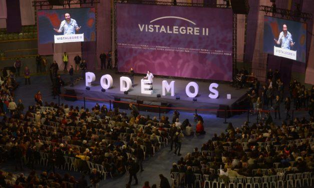 Podemos – Congreso Vistalegre II (papel Instituto DM)