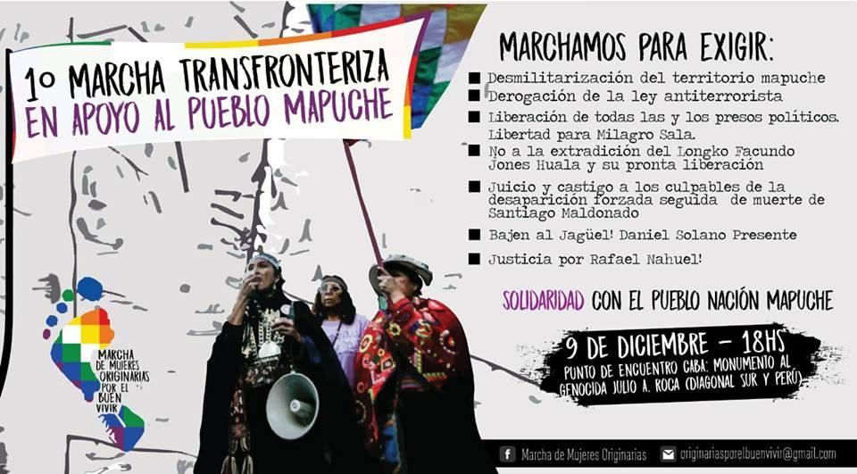 La resistenza dei mapuche in difesa della vita e del territorio