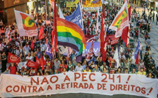 Brazilian universities in resistance