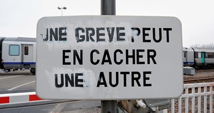 Parigi 22 Marzo 2018: prima giornata dello sciopero dei ferrovieri