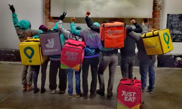 Da Bruxelles i riders lanciano la sfida al capitalismo delle piattaforme: «Uniamoci»
