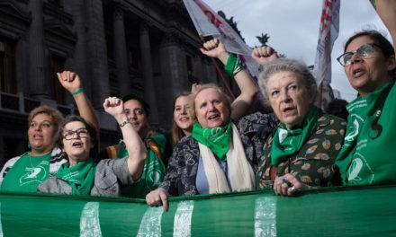 La spiritualità come forza di ribellione. Il movimento per l'aborto legale in Argentina