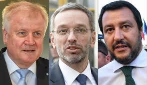 Nazionalismi: la politica estera riserva dei ministri degli interni.