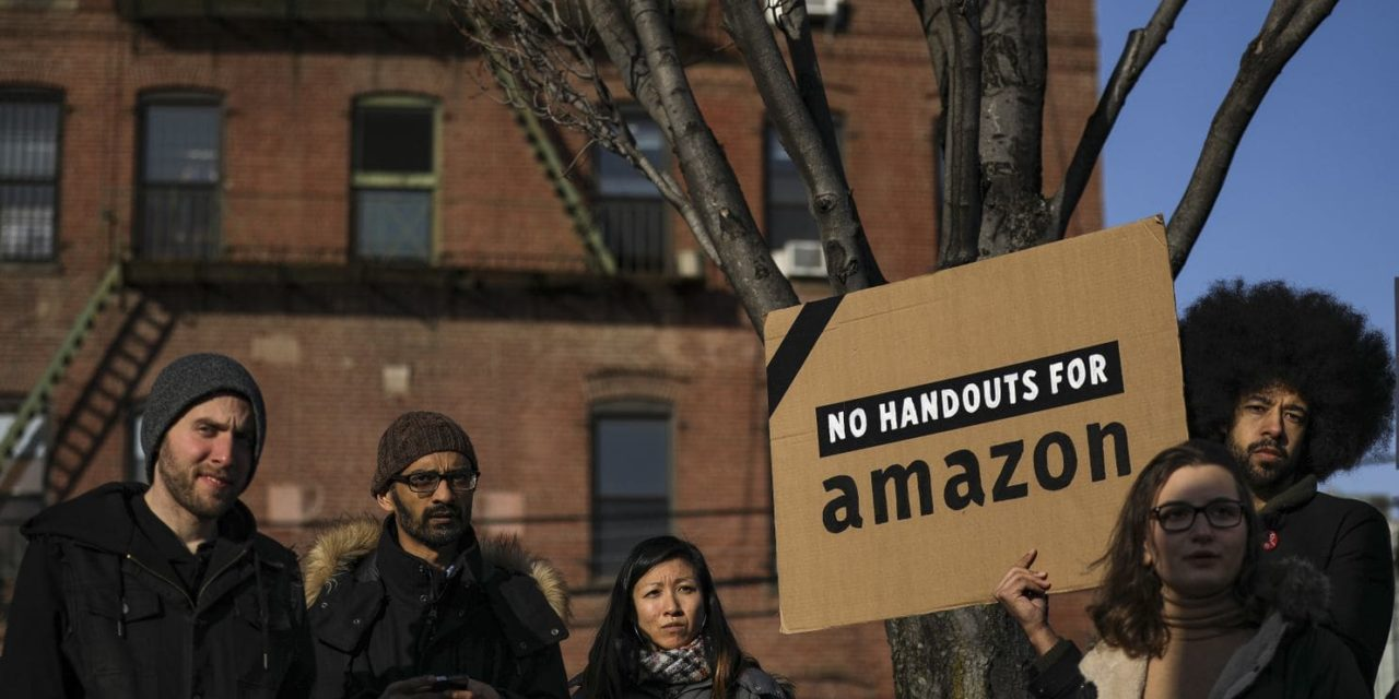 Come i movimenti hanno sconfitto Amazon a New York