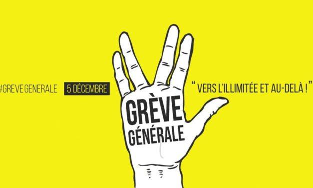 Delle cose di Francia: lo sciopero del 5 dicembre e i gilets jaunes