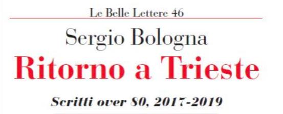 Sergio Bologna, il lavoro non è finito, il futuro è nel conflitto