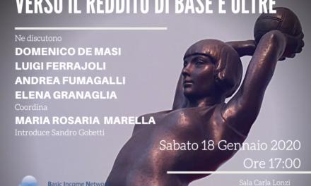 BIN – Roma 18 gennaio 2020: Verso il reddito di base e oltre