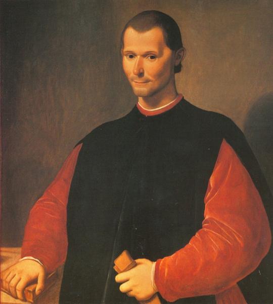 """Machiavelli: """"L'accidente de' diluvii o della peste spegne le memorie delle cose"""""""