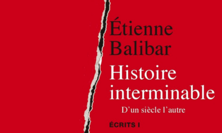 Etienne Balibar: le condizioni della politica