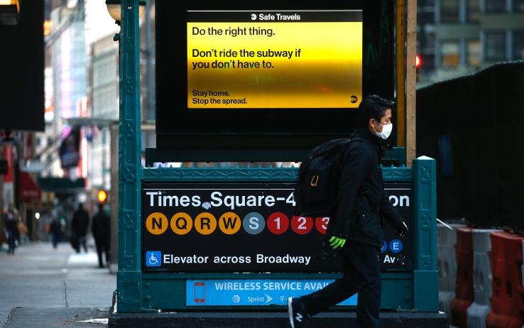 Stati Uniti, politiche divergenti nella crisi del coronavirus