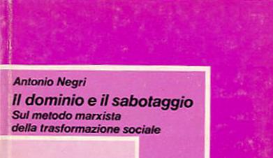 Antonio Negri,  Contropotere (1974)