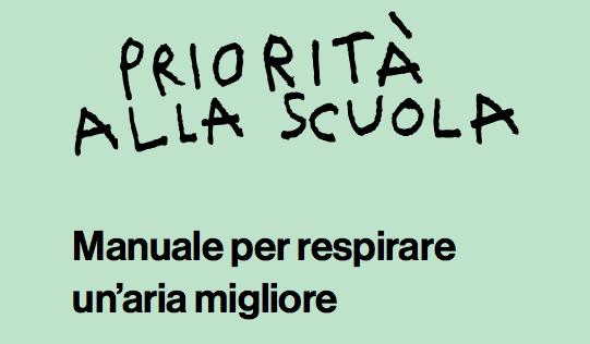 Manuale per respirare un'aria migliore – Priorità alla scuola