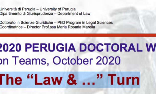 "Ciclo di seminari ""The ""Law & …"" Turn"""