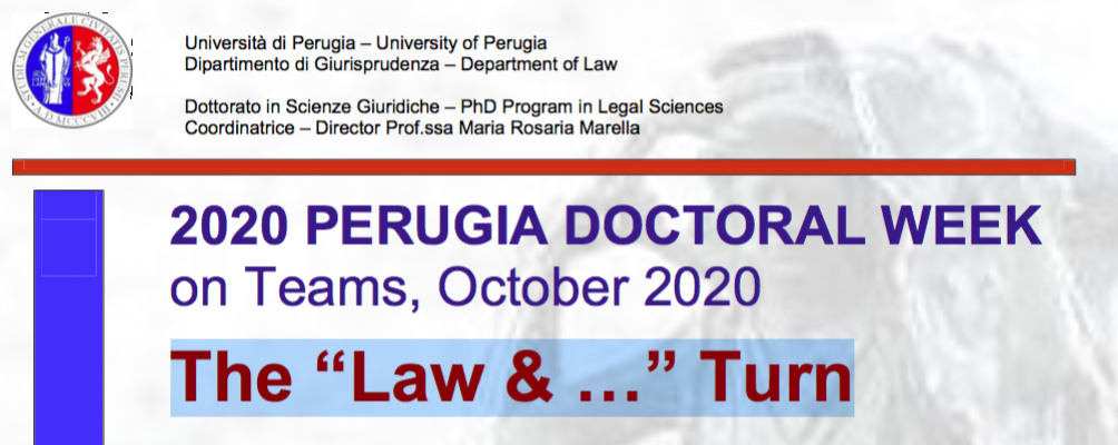 "Ciclo di seminari ""The ""Law & …"" Turn"""