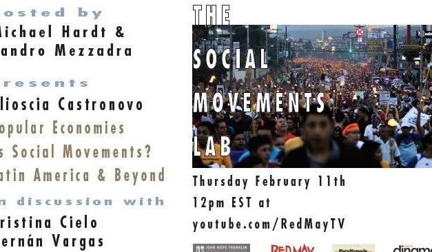 Popular Economies as Social Movements? Latin America & Beyond – The social Movements Lab