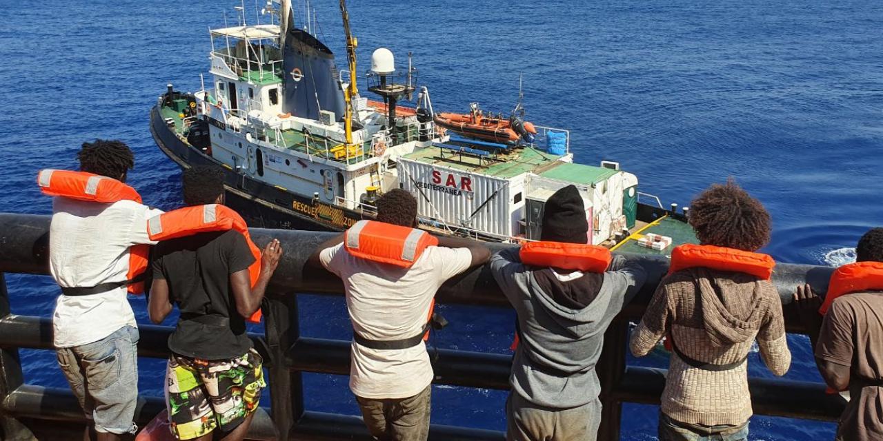 Appello internazionale alla solidarietà per Mediterranea Saving Humans