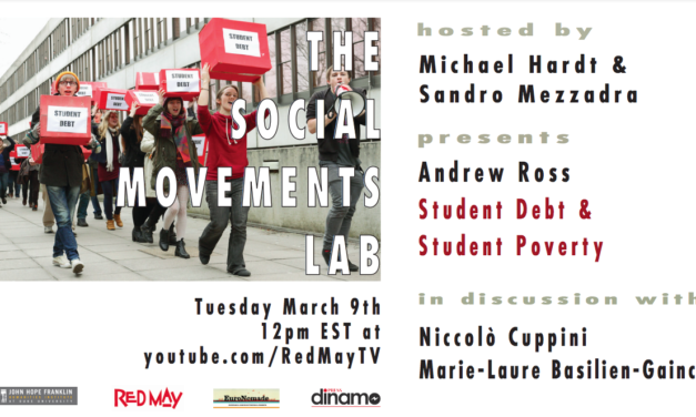 Student Debt & Student Poverty – The Social Movements Lab
